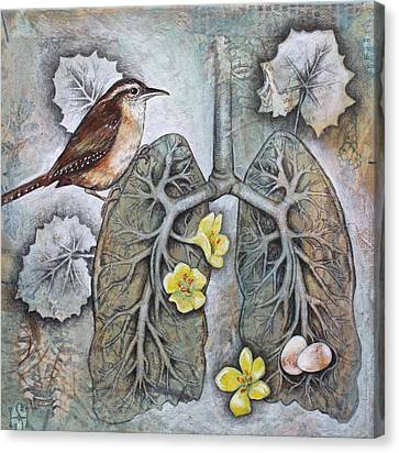 Breath Of Life Canvas Print by Sheri Howe