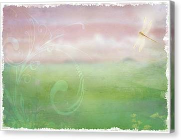 Breath Of Spring Canvas Print by Christina Lihani