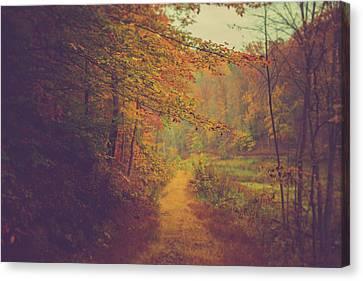 Breathe In Autumn Canvas Print by Shane Holsclaw