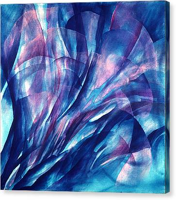 Breathing Blue Canvas Print by Sue Reed