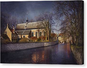 Breathtaking Bruges Canvas Print by Carol Japp