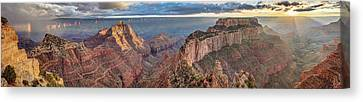 Canvas Print featuring the photograph Breathtaking Cape Royal by Pierre Leclerc Photography