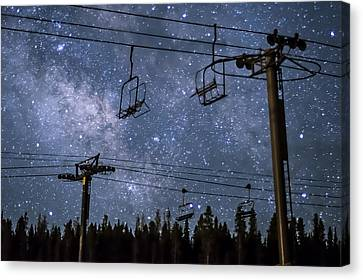 Breckenridge Milky Way Canvas Print