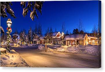 Breckenridge Winter Morning Canvas Print