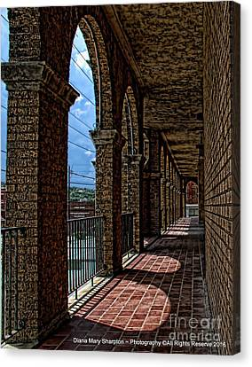 Breezway On The Baker Canvas Print by Diana Mary Sharpton