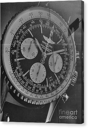Breitling Chronometer Canvas Print by David Bearden