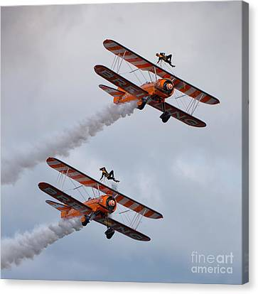 Breitling Wing Walkers Canvas Print