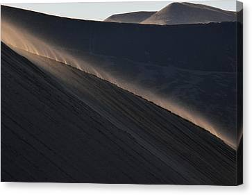 Canvas Print featuring the photograph Breneau's Mornings by Al Swasey