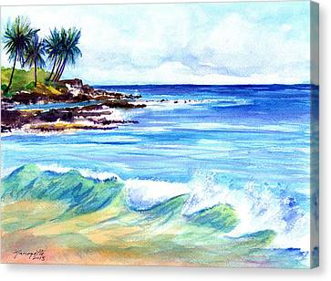 Brennecke's Beach Canvas Print