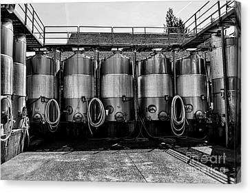 Brewery  Canvas Print by Alex Peralta