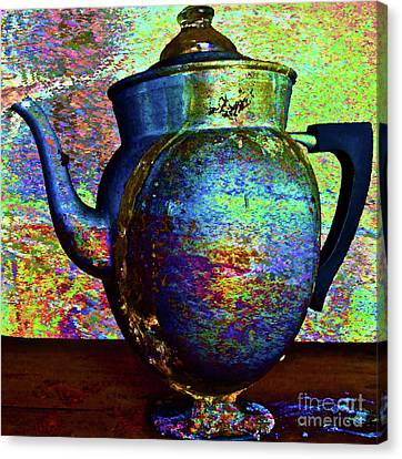 Brewing Nostalgia Canvas Print by Gwyn Newcombe