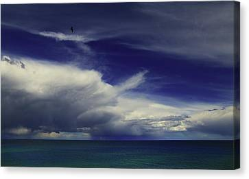 Canvas Print featuring the photograph Brewing Up A Storm by Nareeta Martin