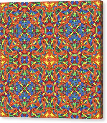 Brexit Soup -multi-pattern- Canvas Print