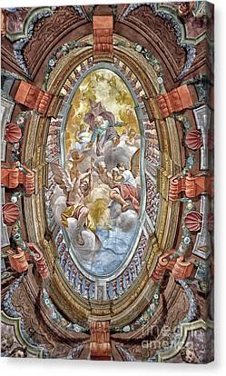 Brezice Castle Museum Canvas Print