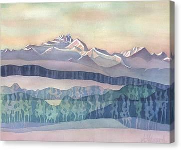 Brian Boru Mountain Canvas Print by Anne Havard