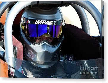 Brian Dean Canvas Print by Land Speed Races
