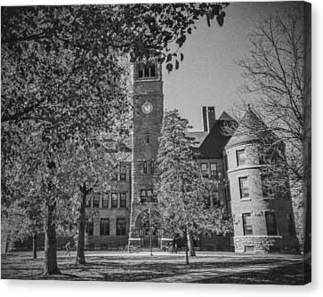 Brua Hall Gettysburg College Canvas Print by Paul Kercher
