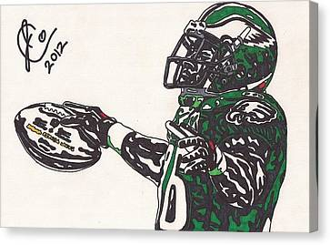 Brian Westbrook 2 Canvas Print by Jeremiah Colley