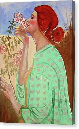 Briar Rose Canvas Print by Rusty Woodward Gladdish