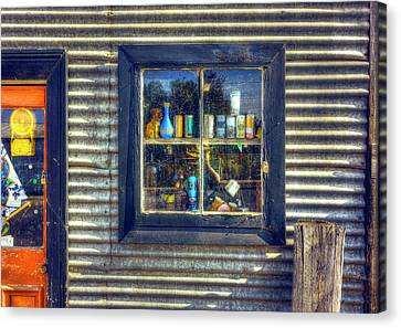 Canvas Print featuring the photograph Bric-a-brac by Wayne Sherriff