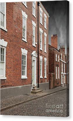 Canvas Print featuring the photograph Brick Buildings by Juli Scalzi