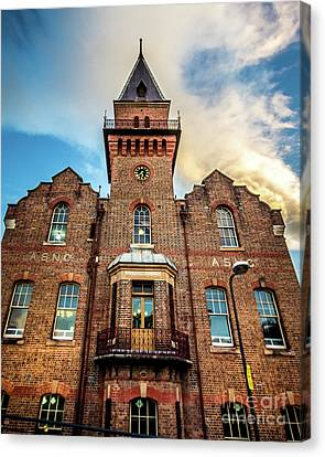 Canvas Print featuring the photograph Brick Tower by Perry Webster