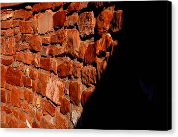 Brick Wall Canvas Print by Jennilyn Benedicto