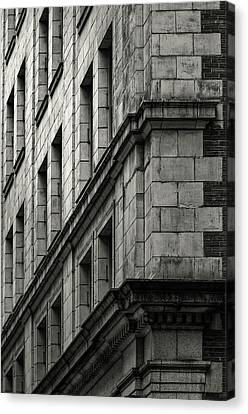Bricks And Beauty Canvas Print