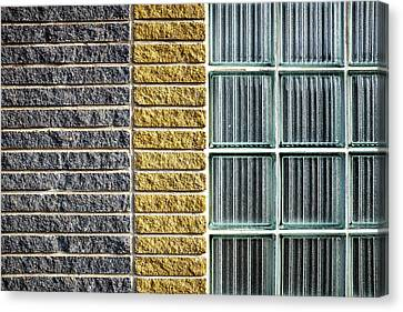 Canvas Print featuring the photograph Bricks by Trever Miller