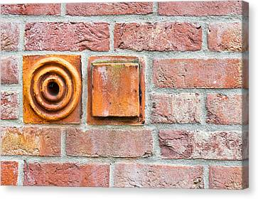 Brickwork Canvas Print by Tom Gowanlock