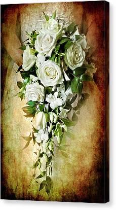 Bridal Bouquet Canvas Print