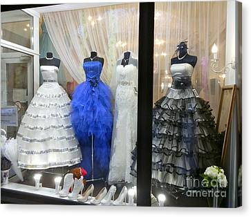 Bridal Fashion Of St. Petersburg Canvas Print