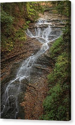 Canvas Print featuring the photograph Bridal Veil Falls by Dale Kincaid