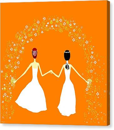Brides Canvas Print