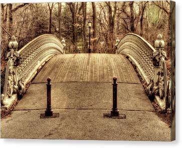 Bridge Canvas Print by Ariane Moshayedi