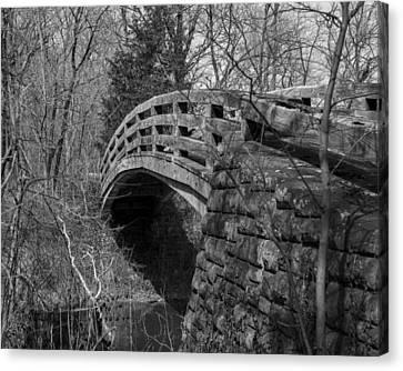 Bridge Back In Time Canvas Print