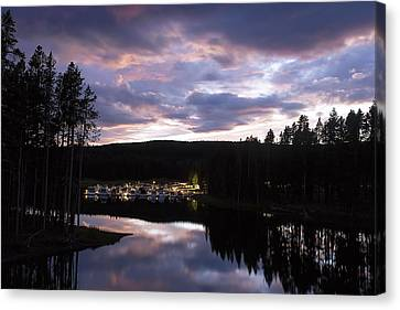 Bridge Bay Sunset Canvas Print by Cynthia Bruner
