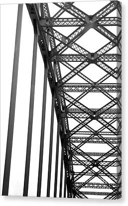 Bridge Canvas Print by Brian Jones