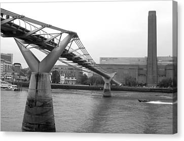 Bridge For You Canvas Print by Jez C Self