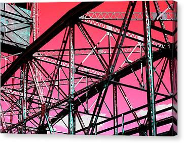 Bridge  Frame -  Ver. 10 Canvas Print