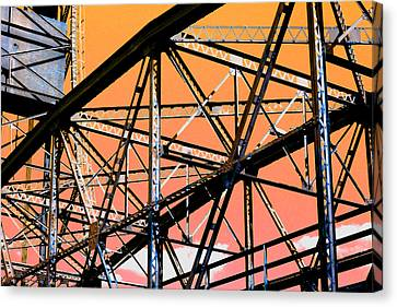 Bridge  Frame -  Ver. 12 Canvas Print