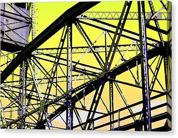 Bridge  Frame -  Ver. 2 Canvas Print