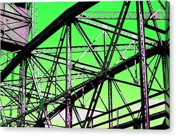 Bridge  Frame -  Ver. 3 Canvas Print