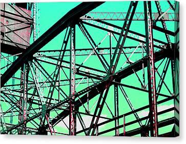 Bridge  Frame -  Ver. 4 Canvas Print
