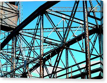 Bridge  Frame -  Ver.  5 Canvas Print