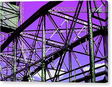 Bridge  Frame -  Ver. 7 Canvas Print