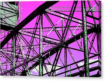 Bridge  Frame -  Ver. 8 Canvas Print