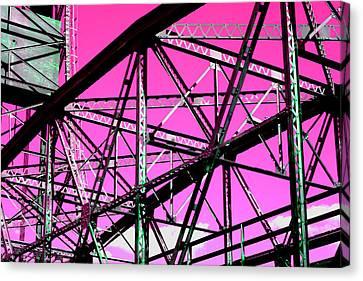 Bridge  Frame -  Ver. 9 Canvas Print