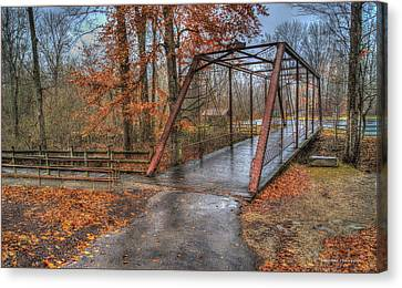 Bridge From The Past Canvas Print
