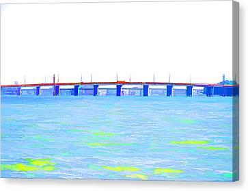 Bridge Canvas Print by Lanjee Chee